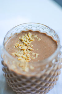 chocolate peanut smoothie
