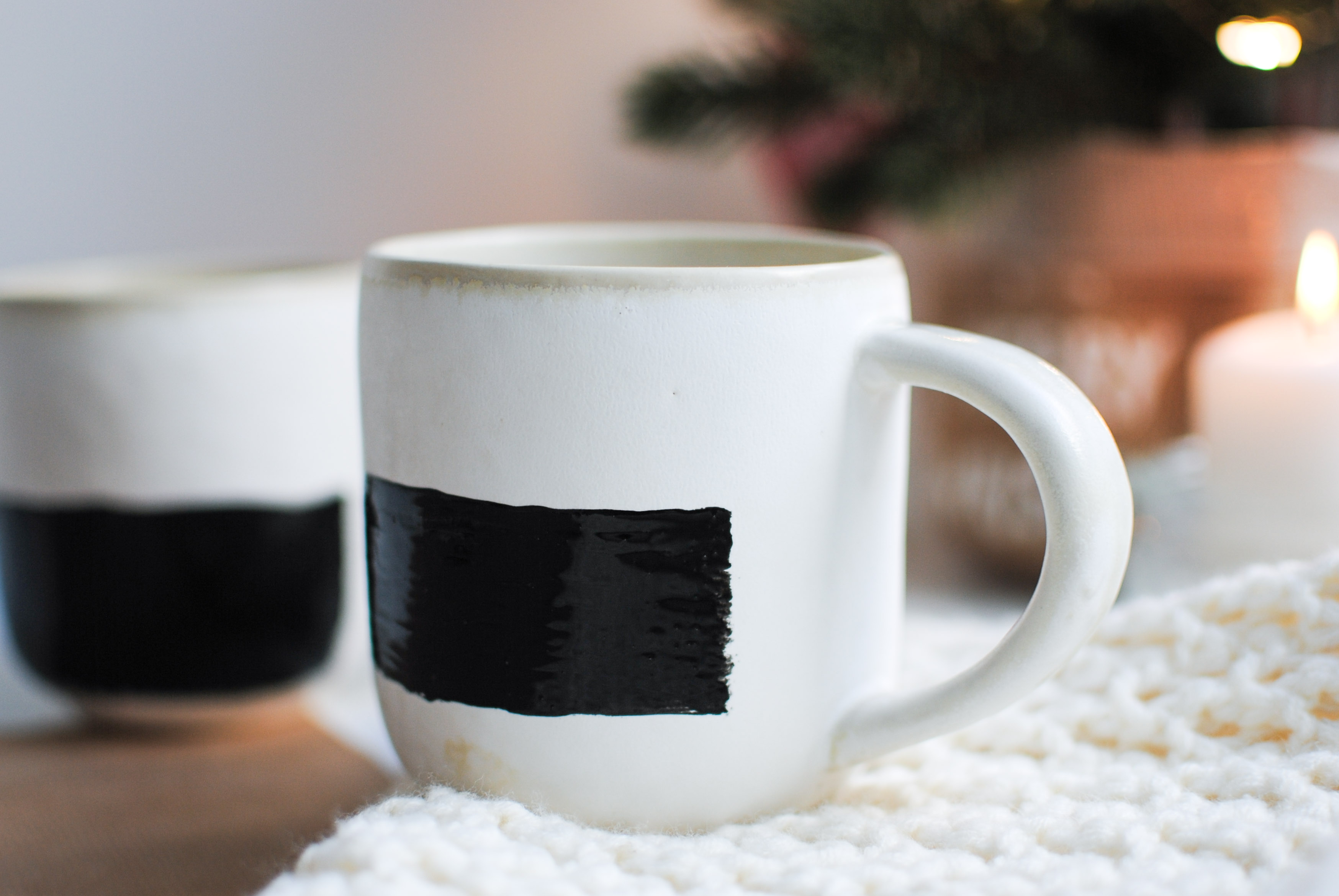 chalkboard mugs diy | please consider | joana limao