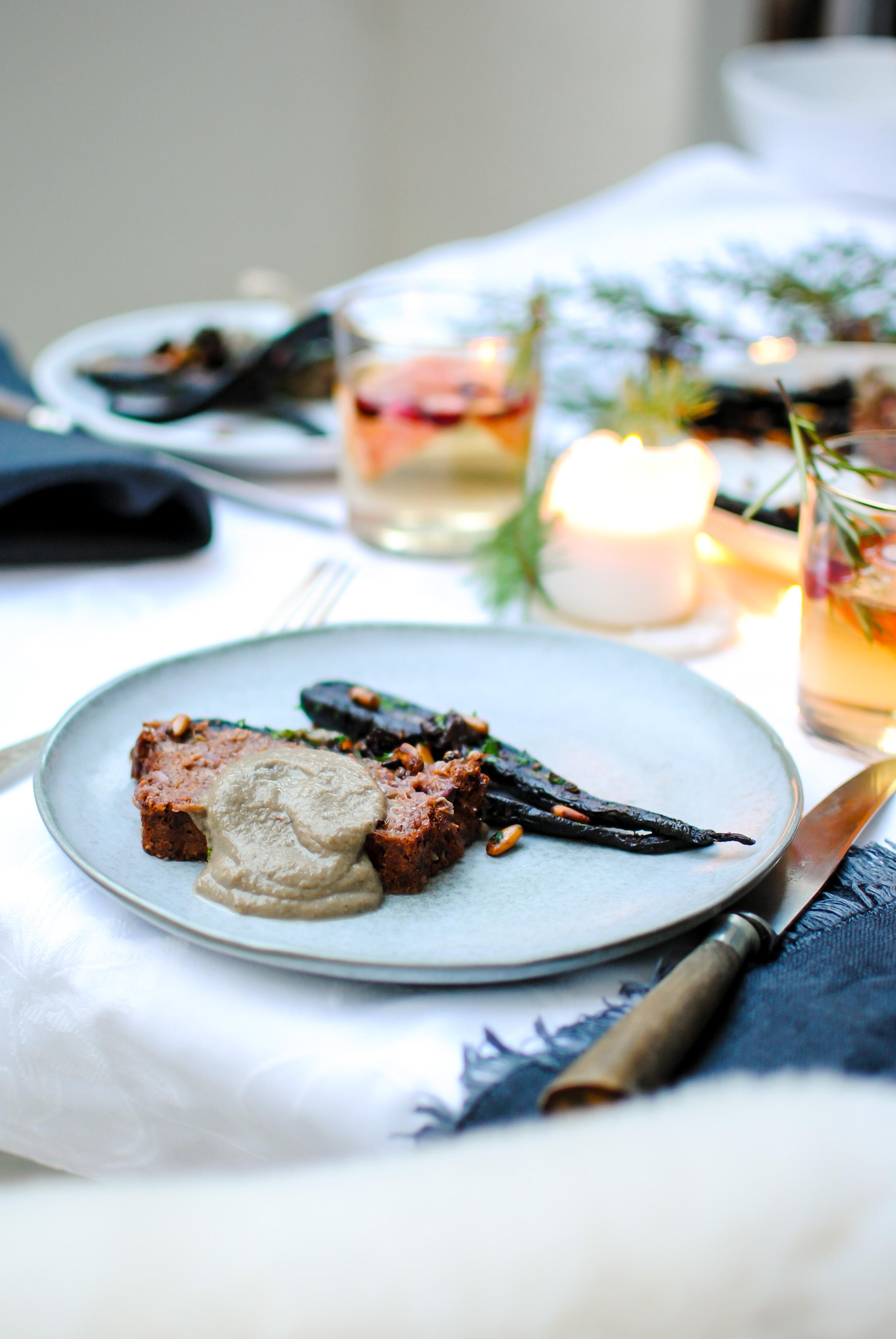 vegan meatloaf | please consider | joana limao