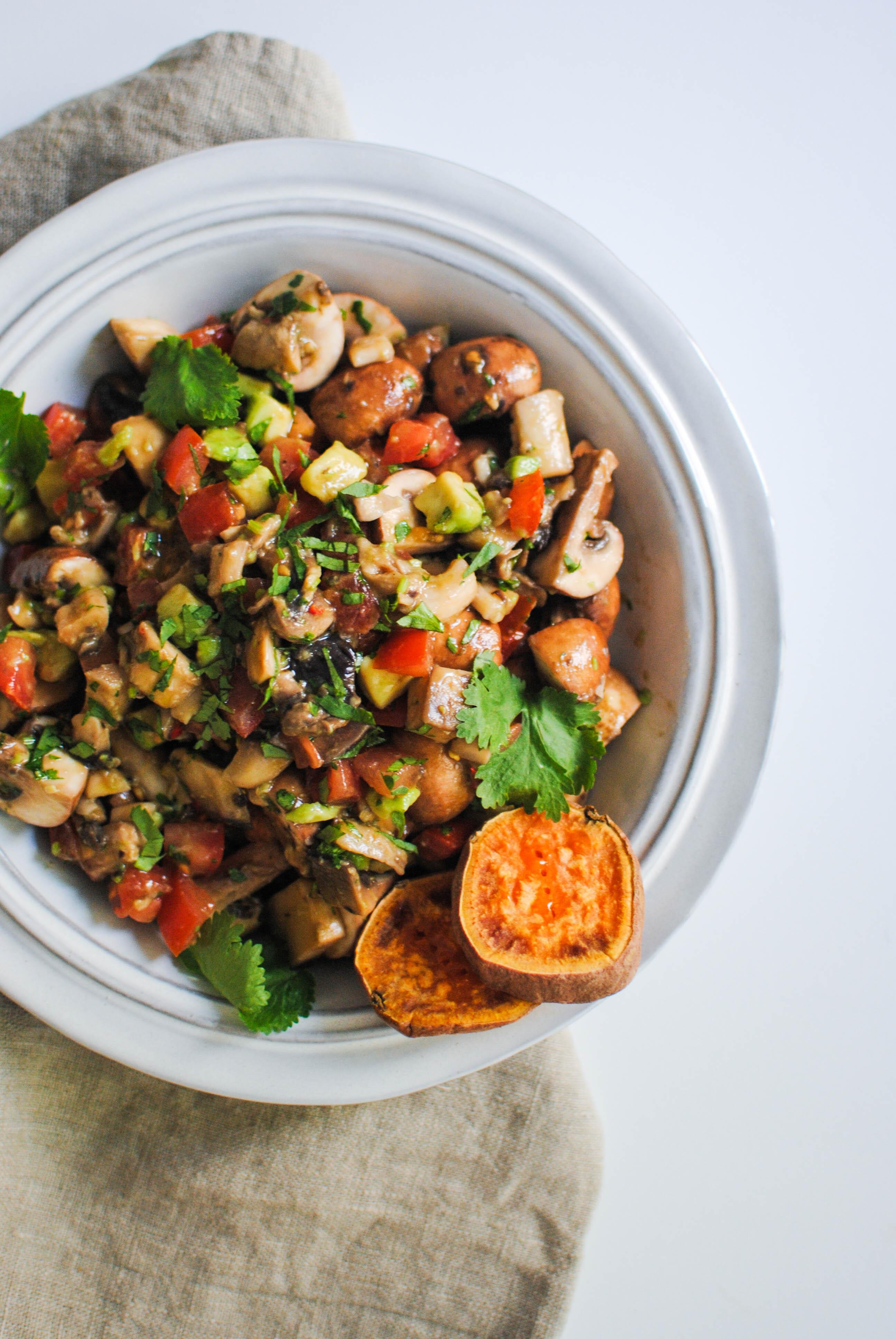 mushroom ceviche | please consider | joana limao