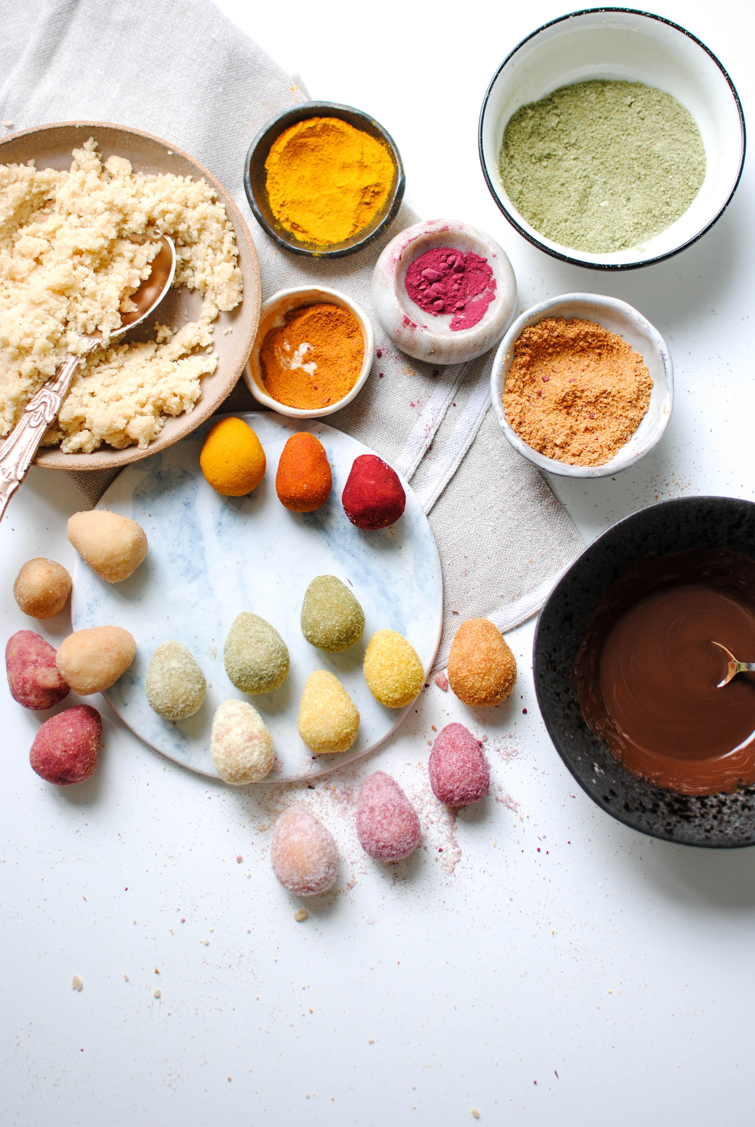 lemon coconut easter eggs | please consider | joana limao