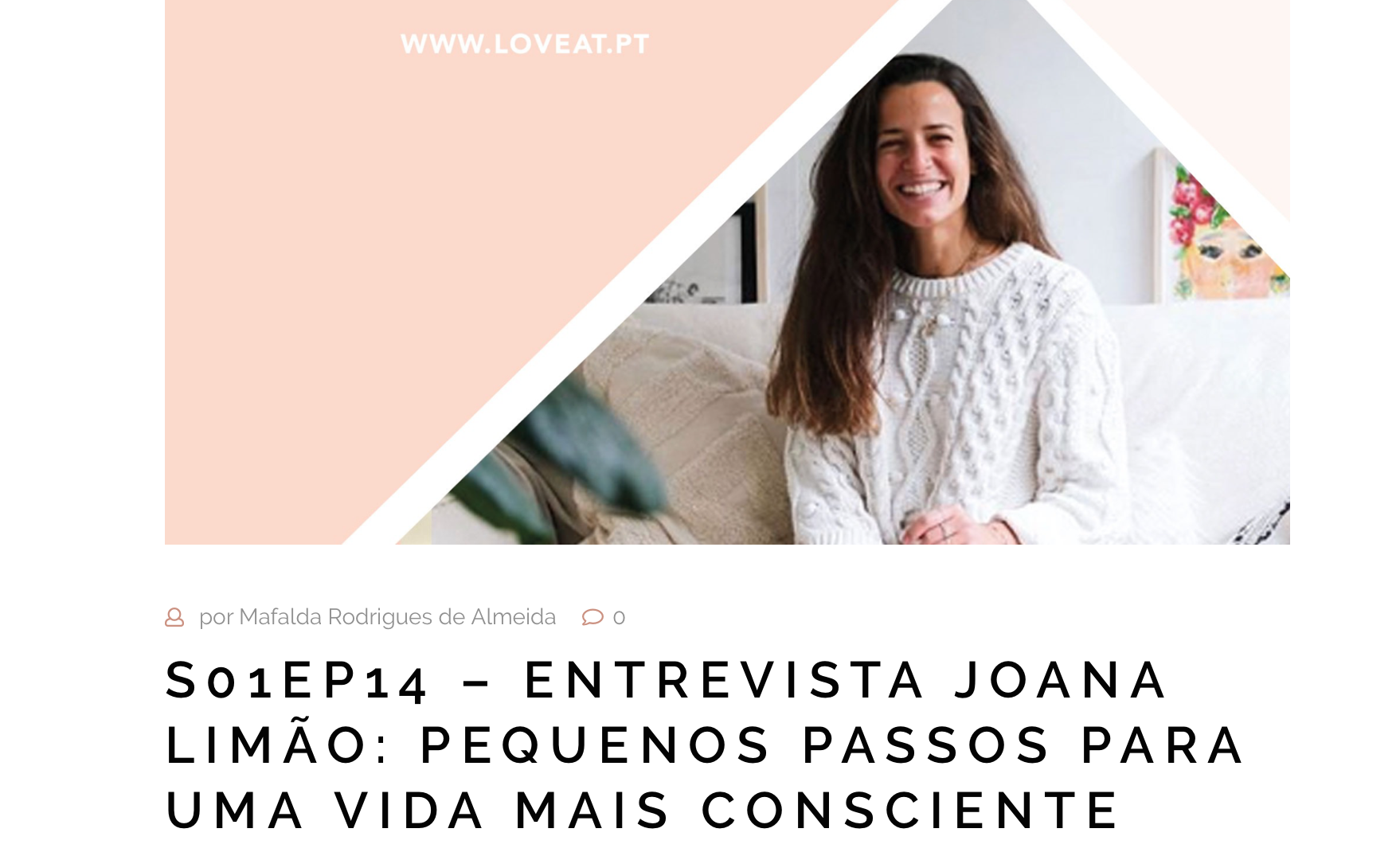 podcast Love Eat | please consider | joana limao
