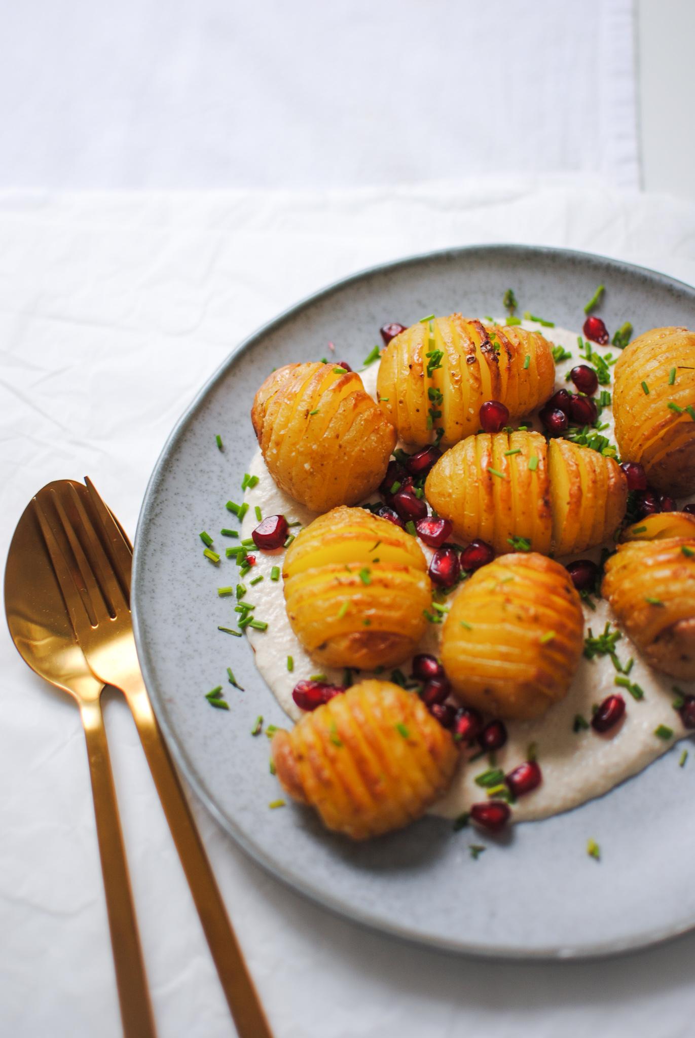 batatas hasselback | please consider | joana limao