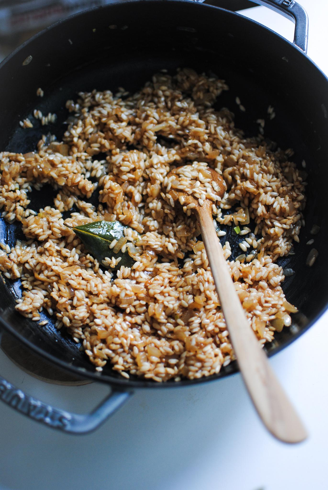risotto vegan de abobora com parmesao vegan | please consider | joana limao