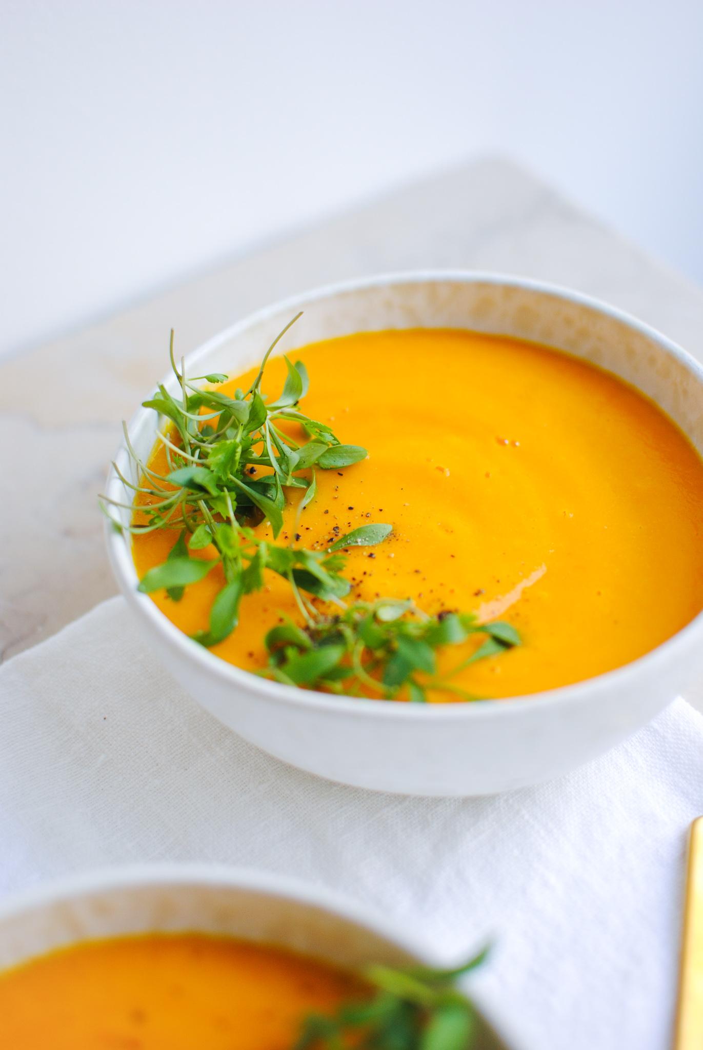 sopa fria cenoura e laranja | please consider | joana limao