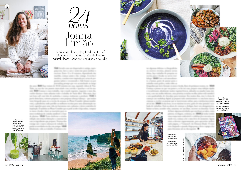 24 horas com Joana Limao