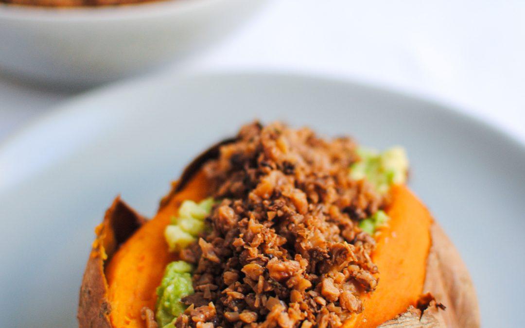 Picadinho Vegan de Nozes e Vegetais